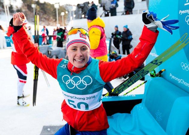 Jan Gunnar Kolstad er ingen blodfan av norsk langrenn, men torsdag kastet BAs OL-kommentator alle hemninger på båten da Ragnhild Haga tok på gull på en historisk dag.