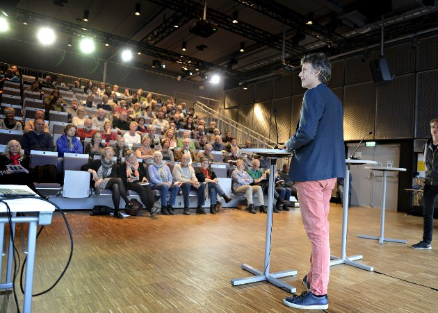 PROVOKATØR: Erling Fossen provoserte mange med sine meninger om Kongsberg som by. Foto: Jan Storfossen