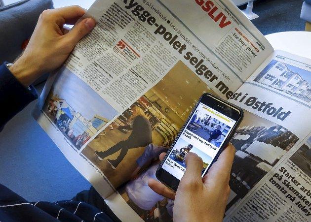 Spennende tider: Mediemangfoldsutvalgets rapport viser at mediene befinner seg i en krevende overgangsfase, skriver stortingsrepresentant Tage Pettersen.