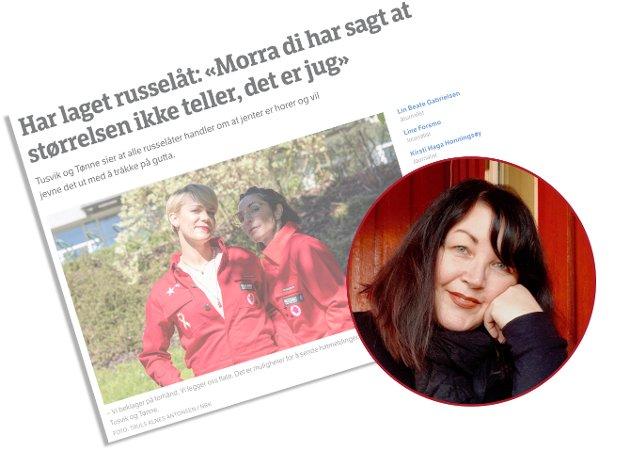 Russen har sannsynligvis aldri engang hørt om Tusvik & Tønne. Hvorfor skulle de det? Geriatriske tenåringer med føttene godt plantet i betalt media som nekter å lytte like mye som de snakker, skriver Maria Can.