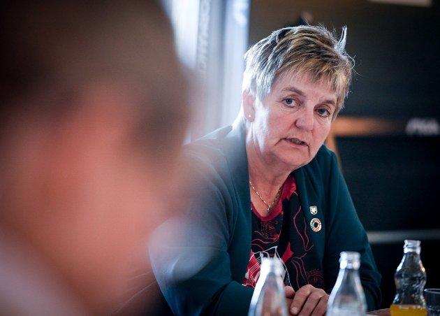 Vefsn-ordfører Berit Hundåla (Sp)