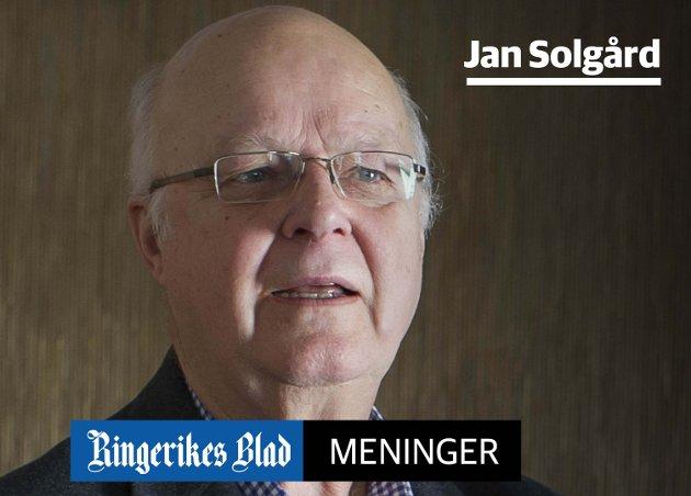 MÅ STYRES: – Om byen ikke selv har råd til det, bør politikerne i alle fall styre dem som har midler til å bygge, skriver Jan Solgård.