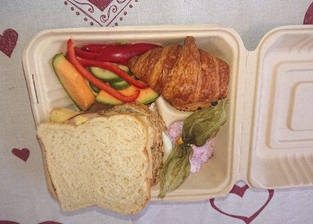 App: Denne lunsjpakken kjøpte Yngve Werner Monrad fra Thon hotell for 39 kroner. Foto: privat