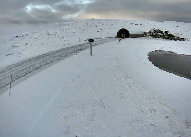 På Beiarfjellet ser det ut til at snøen har festet godt grep.