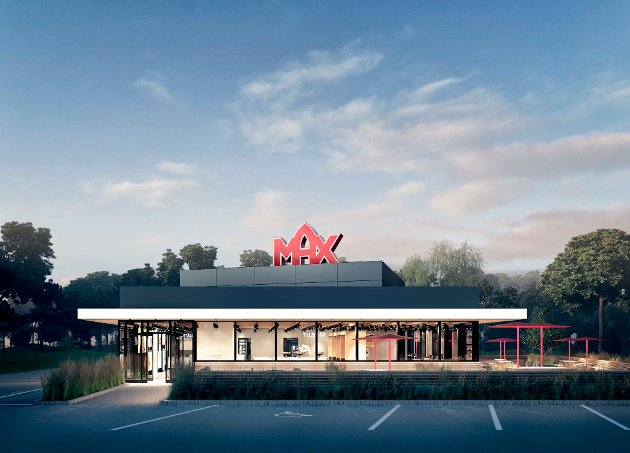 Max har lagt ved flere illustrasjonstegninger som viser konsepthuset deres 130-hus.
