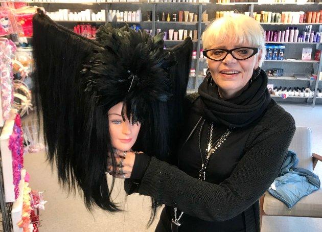 Lise Kollsund med sin suksessfulle frisyre.