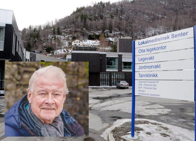 -  De medisinske sentre på Fagernes og Otta og Valdres må vurderes overført til Ringerike sykehus, skriver Carl I. Hagen. Foto: NTB/GD Arkiv