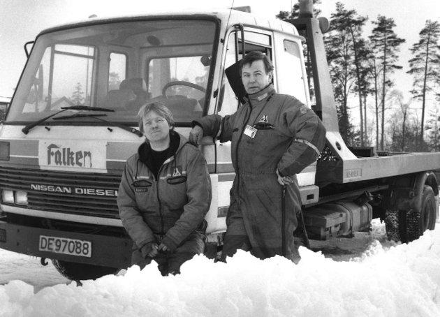 Falken, 1993. Glenn Bøgle og Dagfinn Larsen.