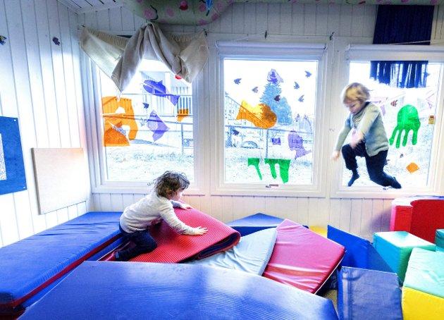 Noe av det viktigste: Barn og barnehager, dekning og pedagogikk.