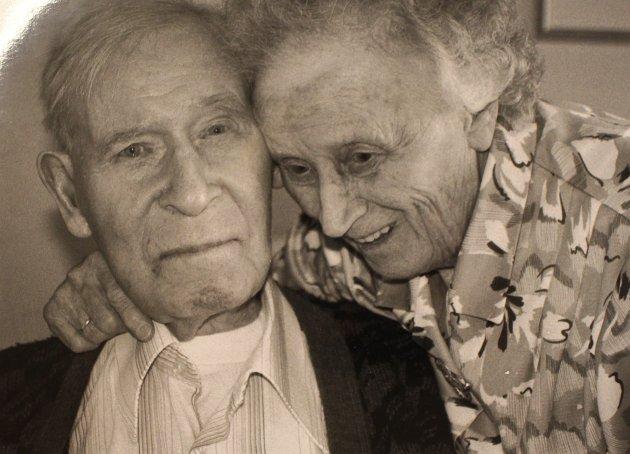 Ektepar: Astrid og Oddvar Fosser