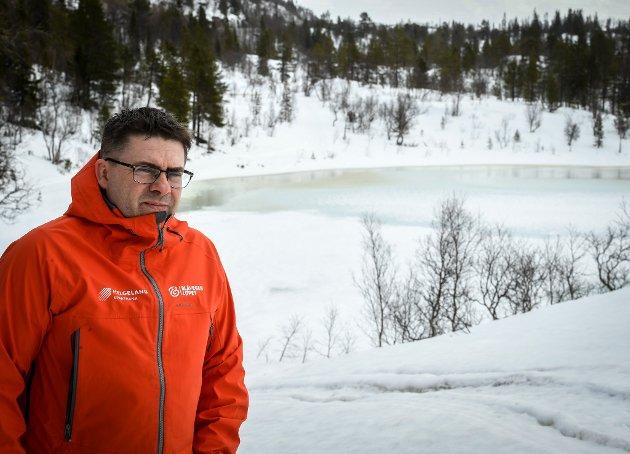 Roy Millejord i Stålkameratene fryketr avlysing av Blå vegenrennet, da det er mye vann i løypetraseen flere steder. Starten er utsatt 14 dager i første omgang.