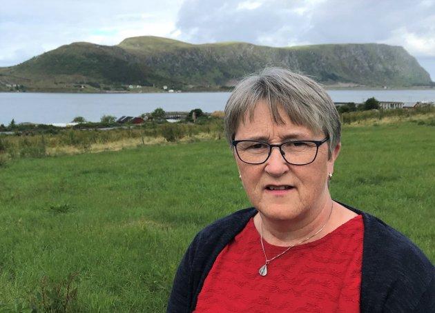 Birgit Oline Kjerstad er 1. kandidat for Møre og Romsdal SV i til Stortingsvalget.