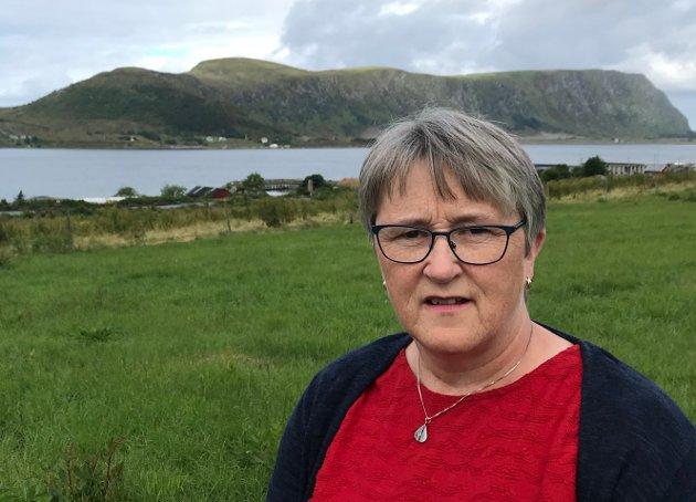 Grunnleggande respekt for livet og naturen er mi drivkraft., skriv Birgit Oline Kjerstad, 1. kandidat M&R SV.