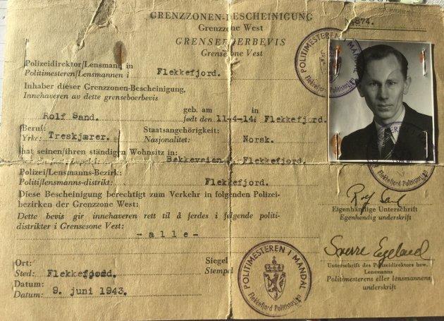 YTRING: Einar Sand deler noen av sine minner fra krigens dager.