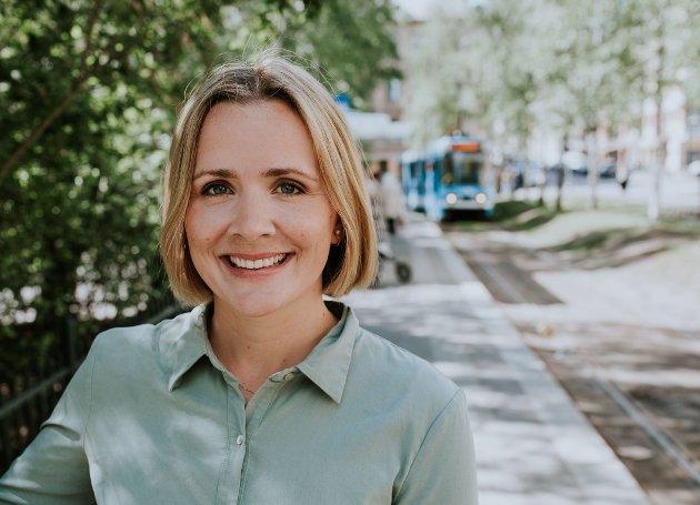 Marit Kristine Vea, andrekandidat for Venstre til bystyret vil ha mer sykkel