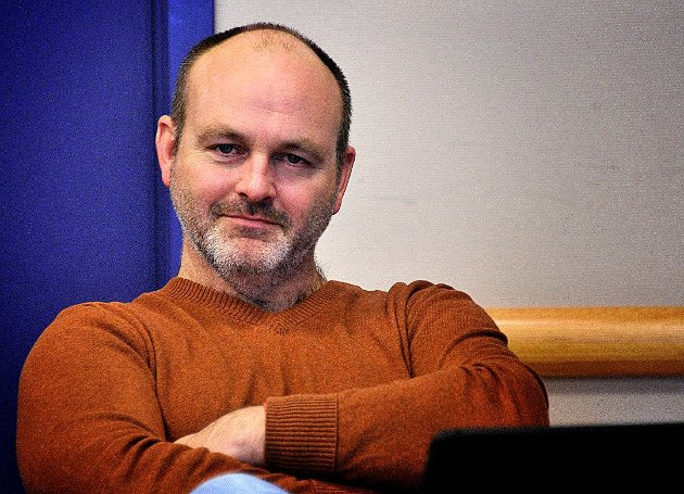Andreas Lervik, gruppeleder for Østfold Arbeiderparti. (Foto: Jarl M. Andersen)