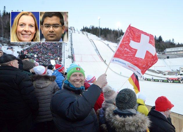 SUGERØR?: Vil SVs Mizanur Rahaman og ordfører Inngunn Trosholmen likevel åpne for sugerør i kommunekassa for å finansiere verdenscuparrangementer, spør innsenderen.