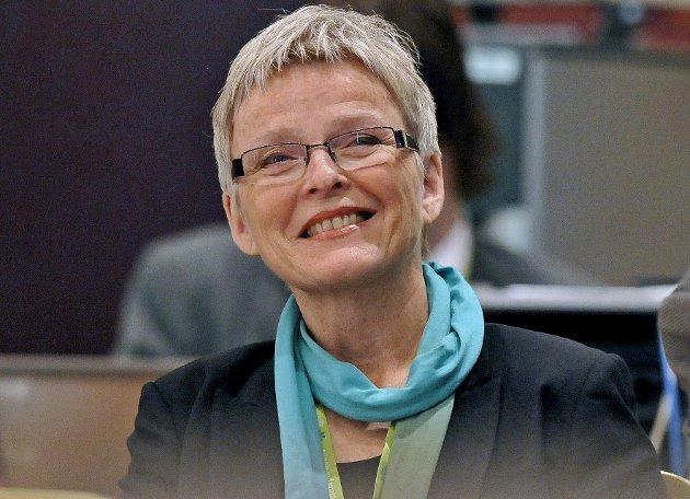 EXIT: Anne Enger må gå som styreleder i Sykehuset Innlandet. Da vakler også nytt sykehus i Moelv.