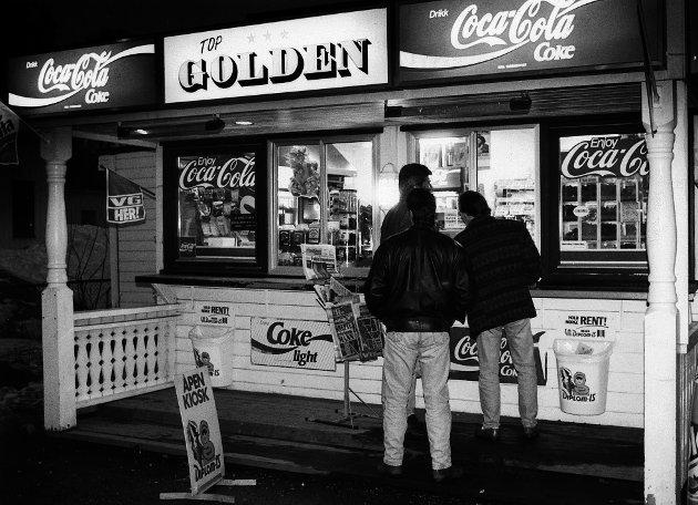Top Golden kiosk Lillestrøm 1990