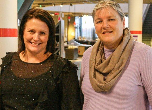 Therese Thorbjørnsen (t.v.) og Linda Engsmyr er glad for at bystyret vedtok handlingsplan mot hatkriminalitet og voldelig ekstremisme.