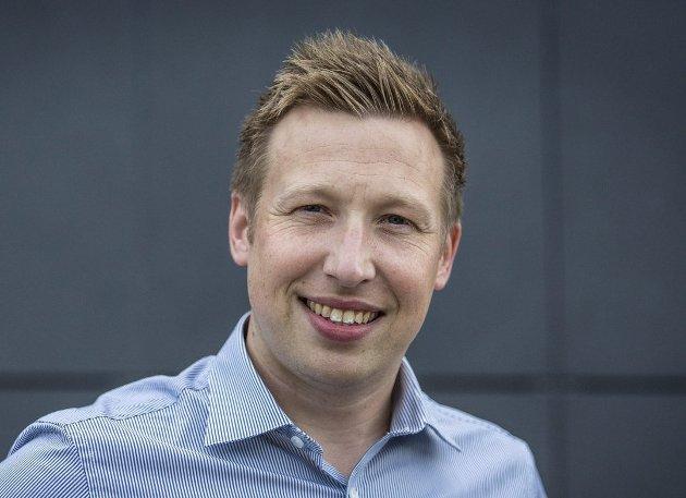 Trond Roger Nydal er redaktør i Avisa Nordhordland. Foto: Morten Sæle
