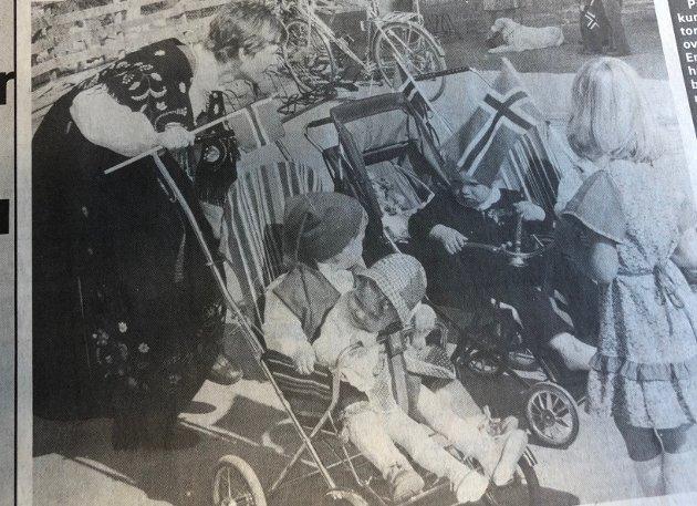 1980: Barnedialog over iskrem på Siggerud.