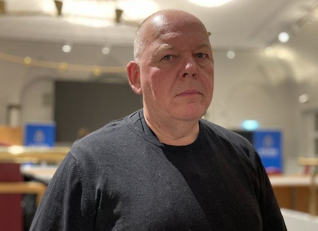 Per Kristian Dahl, førstekandidat for Østfold Pensjonistparti. (Foto: Halden Arbeiderblad)