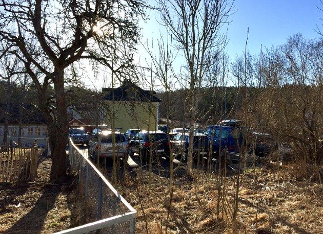 Her vil det bli store endringer innen Eplehagen barrnehage er ferdig bygd.