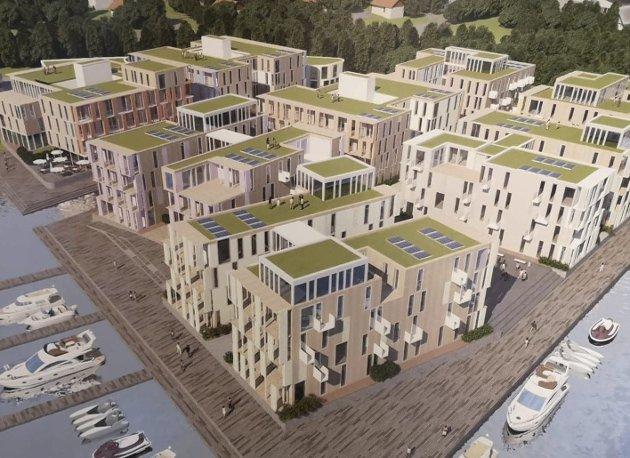 Planer: Slik er utbyggingsplanene for Tyska og Hollenderen.