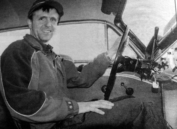 Roger Grav elsker biler og han hadde hatt til da 50 stykker. Denne vinteren skulle han  kjøre en Volvo Amazon fra 1964.