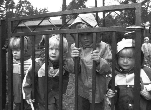 Øreåsen barnepark 1990