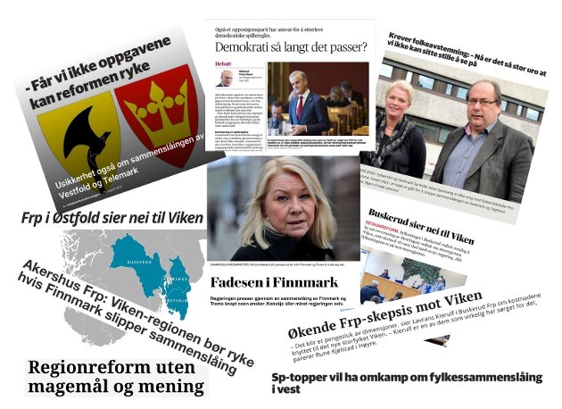 Skepsisen til regionreformen øker landet rundt, også i Østfold