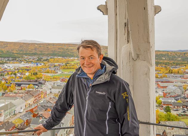 Simen Bjørgen, direktør i Kulturminnefondet.