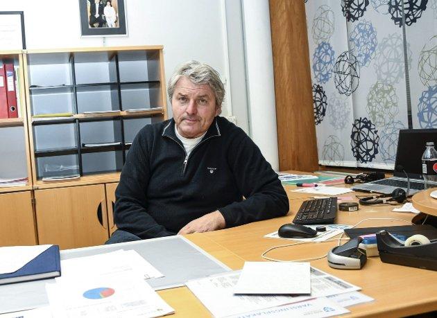 Knut Kvale er ordfører i Øvre Eiker kommune.