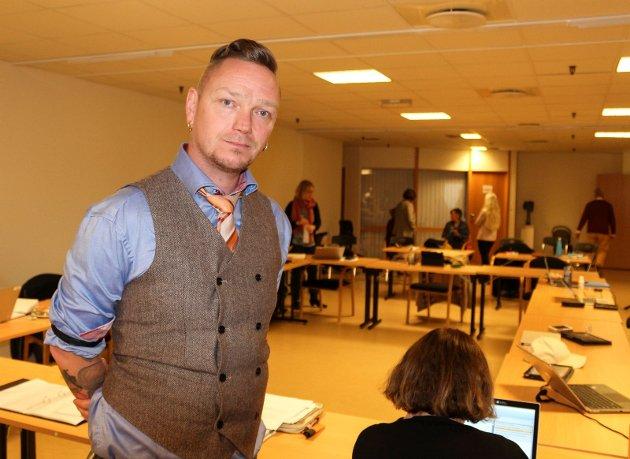 Remi Sølvberg er leder av utvalget for helse og mestring i Moss.