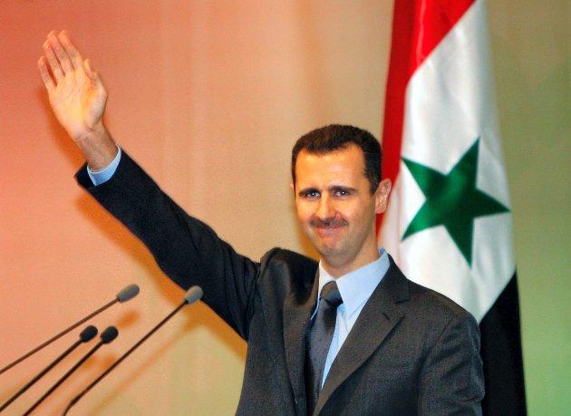 Syrias president Bashar al-Assad