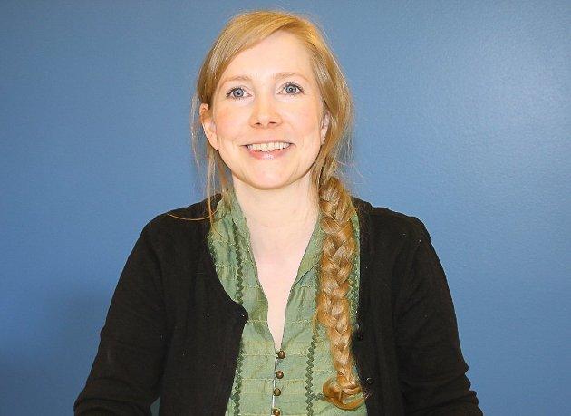 ENGASJERT: Marthe Arnesen. gruppeleder for Miljøpartiet De Grønne i Ski