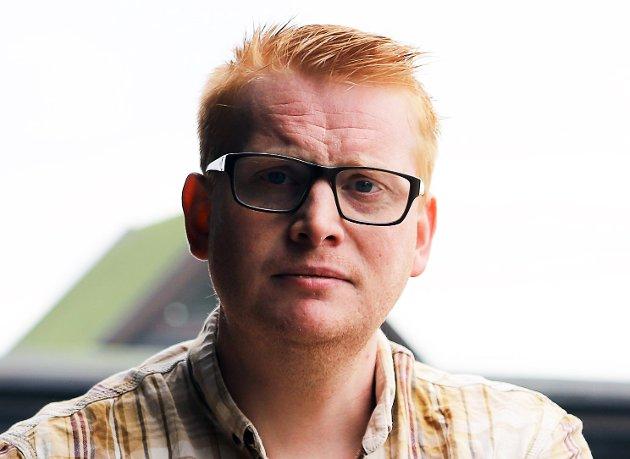 Fredrik Holm, tredjekandidat for Østfold Høyre ved høstens stortingsvalg. (Foto: Trine Bakke Eidissen, Halden Arbeiderblad)