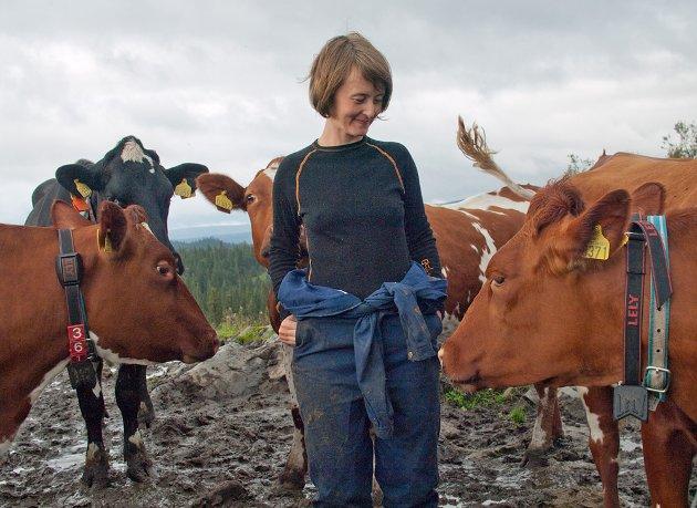 Reklamen fremhever typisk at bonden har familie eller at merkevaren har lokal tilknytning. La deg ikke lure til å tro at dette har noe med dyrevelferd å gjøre, skriver Marianne Kulø, sivilagronom og fagleder i Dyrevernalliansen.