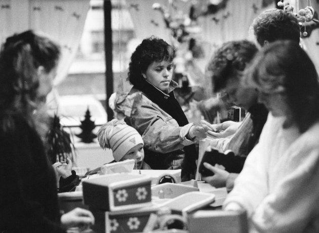 Julehandel 1989.