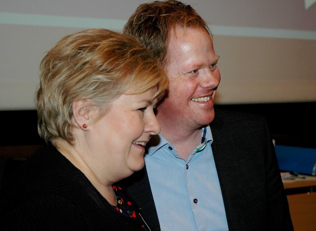 HØYRE: Landets såvidt største parti sliter før landsmøtet. Foto: Kjell Haugerud