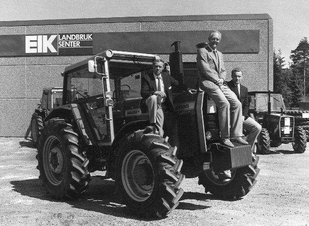 Eik Landbrukssenter i Rygge, 1985.