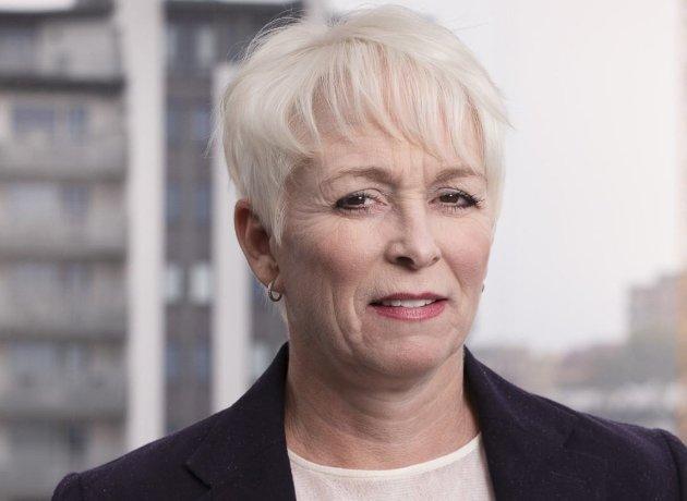 Heidi Finstad, administrerende direktør i Treindustrien. (Foto: Ingar Sørensen)