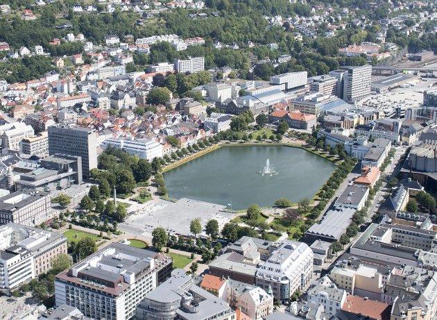 Tone Wold mener Bergen bør la seg inspirere av sentrumshandelen i Trondheim. ARKIVFOTO: Eirik Hagesæter