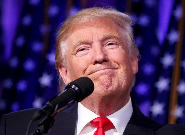«Selvfølgelig kan man si mye om Donald Trump.»