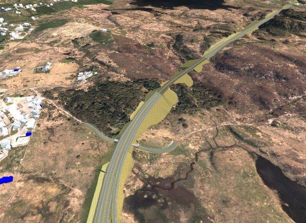 Omkjøringsveien er et overgrep mot et kulturlandskap av nasjonal verdi.