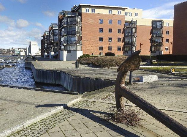 Muligheter: Området rundt Bryggekanten representerer mange muligheter, kronikkforfatter oppfordrer til større aktivitet.