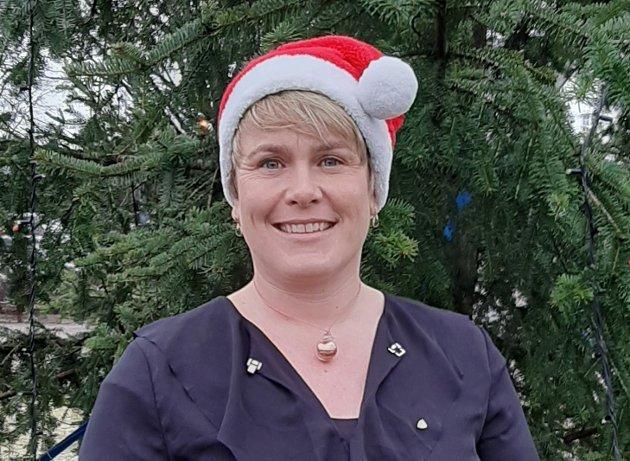 Julehilsen: Ordfører Karoline Fjeldstad.