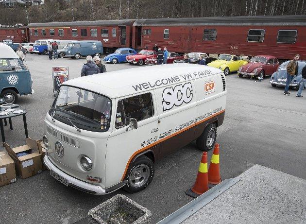Vårmønstringen til veteranklubben var i år også godt besøkt av varierte utgaver og ombygginger av de populære VW-bilene.