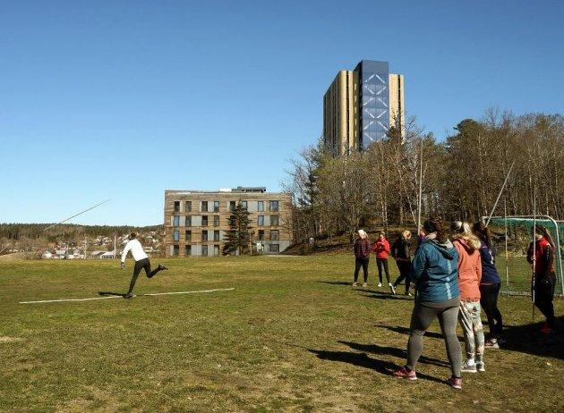 POSITIVT: Et samlet Hovedutvalg for plan, teknisk, landbruk, klima og miljø var positive til Studentsamskipnadens planer om å bygge et tårnhus på Remmen.